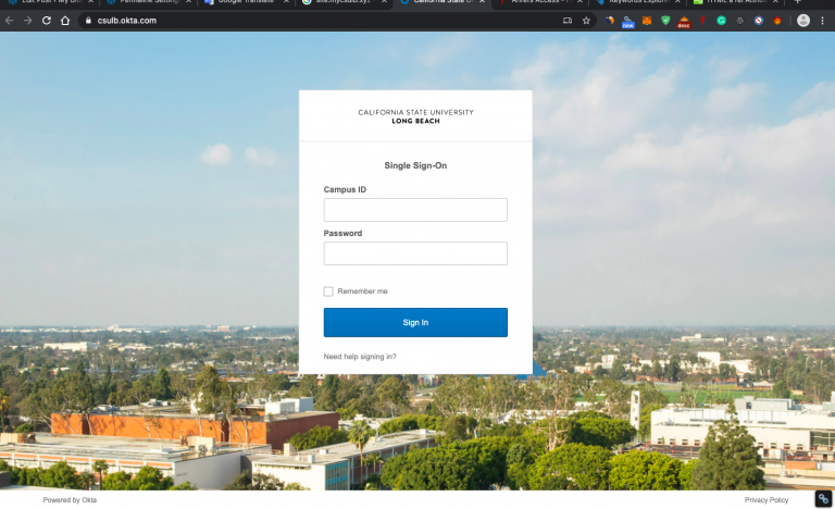MyCSULB Login Portal For Students And Employees